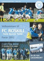 April 2012 - FC Roskilde