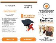 folleto actividades san juan eudes - Colegio Minuto de Dios