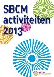 SBCM activiteitenplan 2013