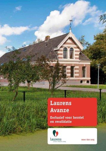 Waarom Laurens Avanze?