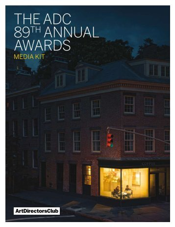 The adC 89Th aNNUaL aWaRdS - Evidence Design