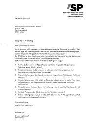 Interpellation_Tocht.. - SP Appenzell Ausserrhoden