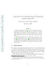 arXiv:math/0609267v2 [math.PR] 17 Sep 2006