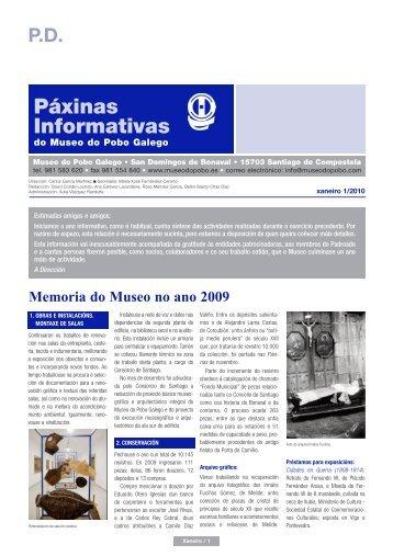 Páxinas Informativas - Museo do Pobo Galego