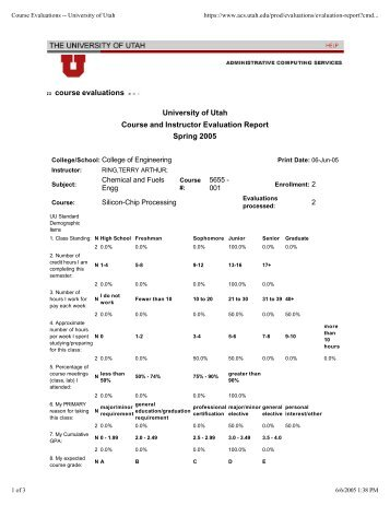 Eval report (1)Sp 2005.pdf - Department of Chemical Engineering