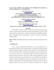 USO DO DATA MINING COM SISTEMAS DE ... - Projeto Pesquisa