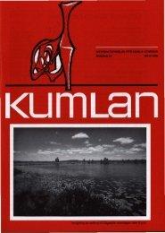 visas av Kumfa hembygds- förening - Kumla kommun