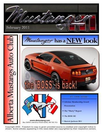 February - Alberta Mustangs Auto Club