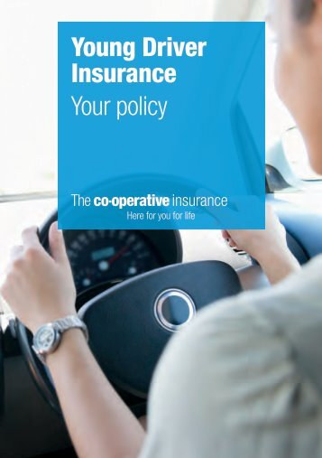 Sample Policy Booklet - The Co-operative Insurance