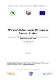 Migrants' Rights - Africa-EU Partnership