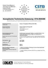 ETA-09/0398 - bei Powers Europe