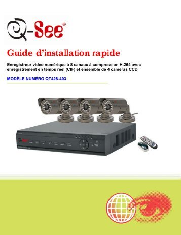 Guide d'installation rapide - Q-See