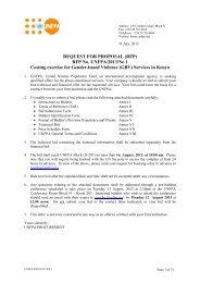 REQUEST FOR PROPOSAL (RFP) RFP No. UNFPA/2013/No 1 ...