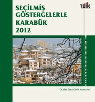 KARABÜK - Türkiye İstatistik Kurumu