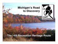 Calhoun County - I-69 Recreational Heritage Route
