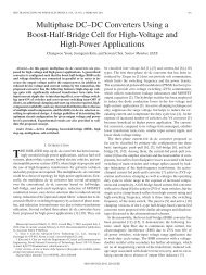 Multiphase DC–DC Converters Using a Boost-Half ... - IEEE Xplore