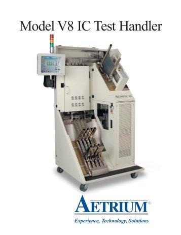Model V8 IC Test Handler - MB Electronique