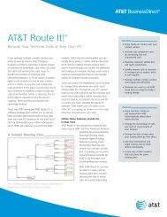 AT&T Route It!®