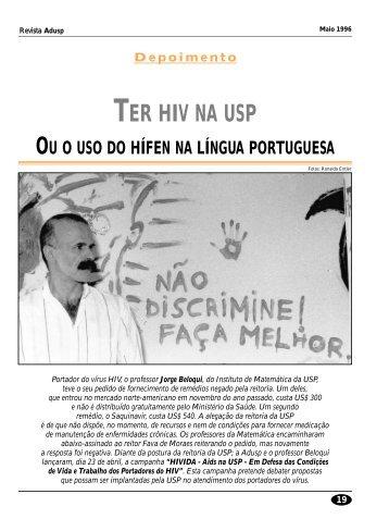 TER HIV NA USP - Adusp