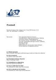 Protokoll årsmöte FSS 080523 - Föreningen Sveriges Socialchefer