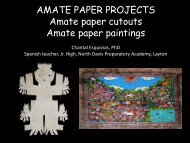 AMATE PAPER PROJECTS Amate paper cutouts Amate paper ...