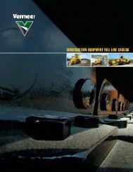 CONSTRUCTION EQUIPMENT FULL LINE CATALOG