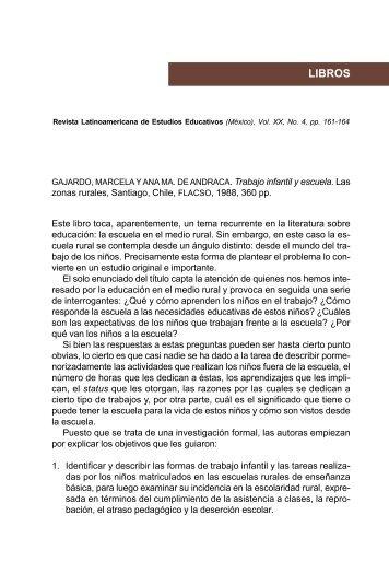 LIBROS - Centro de Estudios Educativos