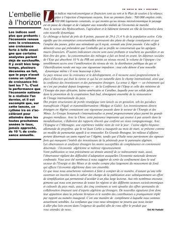 cahier 01 - Ministère de l'énergie et des mines