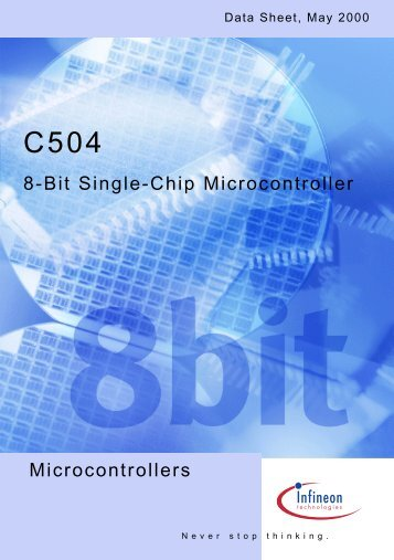 Microcontrollers 8-Bit Single-Chip Microcontroller - Infineon