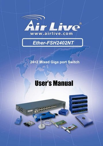 Ether-FSH2402NT - kamery airlive airlivecam