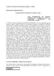 Contrato de Concessão - MZ Publisher