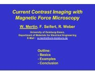 Current Contrast Imaging with Magnetic Force Microscopy