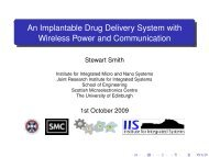 An Implantable Drug Delivery System with Wireless Power and ...