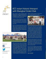 Cricket - The Kowloon Cricket Club
