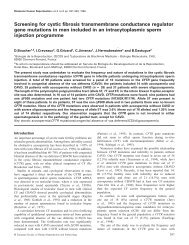 Screening for cystic fibrosis transmembrane conductance regulator ...