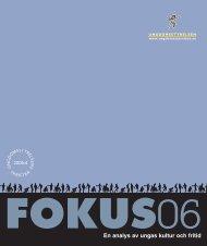 pdf fokus06 - Ungdomsstyrelsen