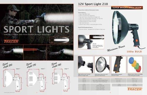 210mm Tracer Sport Light Filter