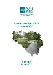 Document support - Agence de l'Eau Seine Normandie