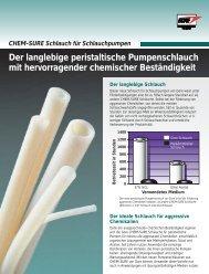 CHEM-SURE Schlauch für Schlauchpumpen - Watson-Marlow GmbH