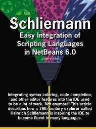 Easy Integration of Scripting Languages in NetBeans 6.0