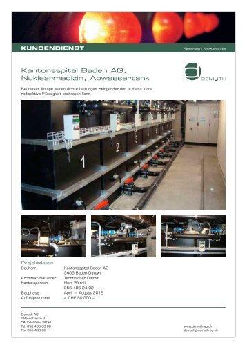 Referenzliste Kundendienst.pdf - Die Demuth AG