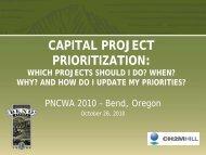 Capital Prioritization - pncwa