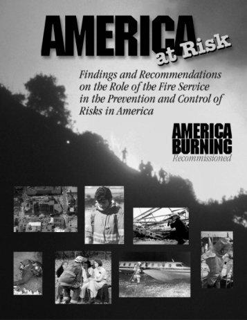 America at Risk - Northern Illinois Fire Sprinkler Advisory Board