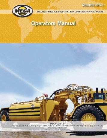 specialty haulage solutions for construction and mining