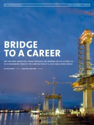 BRIDGE TO A CAREER - Magazin - Bilfinger