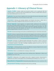 Glossary of Clinical Oral Health Terms - Long-Term Care Best ...