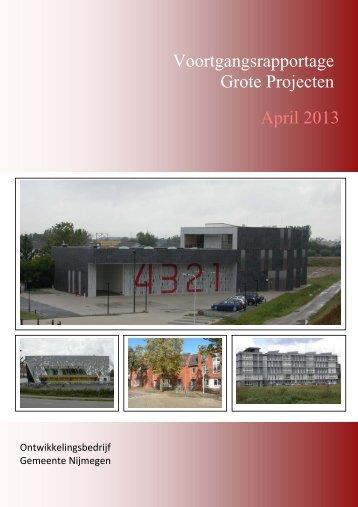 Voortgangsrapportage Grote Projecten April 2013 - Gemeente ...