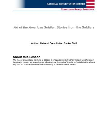 Art of the American Soldier - National Constitution Center