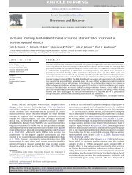 Increased memory load-related frontal activation after - Vanderbilt ...