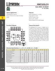 HMC525LC4 - Hittite Microwave Corp.